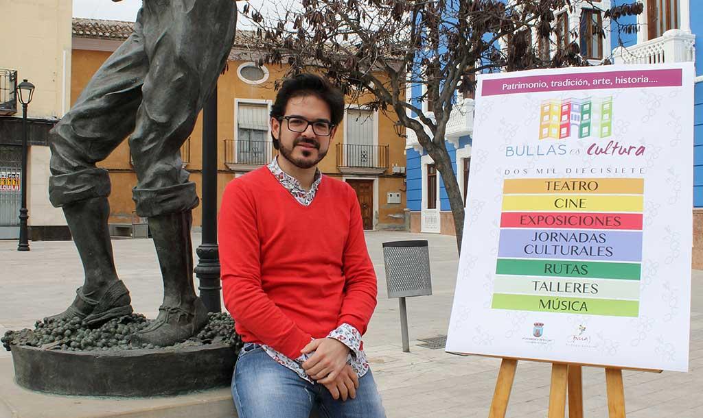 'Bullas es cultura' engloba actividades de diferentes modalidades artísticas para dar a conocer el municipio en su plenitud