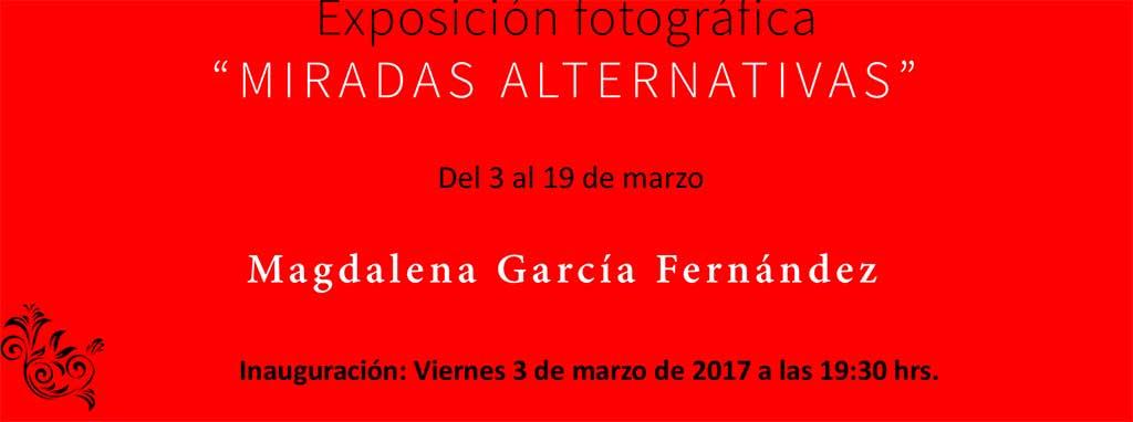 Miradas alternativas, una exposición en Bullas con motivo del Día Internacional de la Mujer recoge las fotografías de Magdalena García