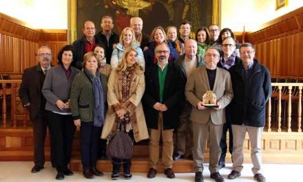El Círculo de Economía de la Región de Murcia peregrina a Caravaca