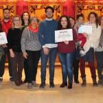 Premios y agradecimientos para los vecinos que participaron en la VI Ruta de Belenes de Bullas