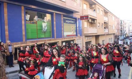 El Desfile Infantil del Carnaval inunda de colorido las calles de Cehegín