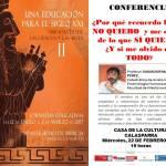 """Conferencia de Salvador Martínez Pérez en Calasparra dentro de las jornadas """"Una educación para el siglo XXI"""""""