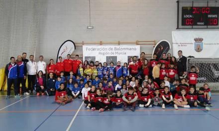Gran participación en la tercera jornada de peque balonmano celebrada en Bullas