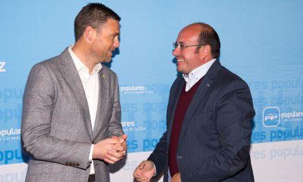 El caravaqueño José Francisco García, vocal de la mesa del congreso regional del PP que se celebra el próximo sábado