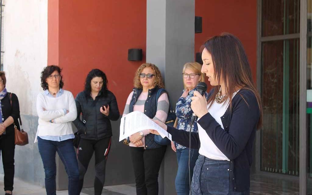 El Ayuntamiento de Bullas se suma al «paro» por el Día Internacional de la Mujer