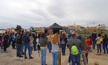 La Vía Verde del Noroeste ya luce más frondosa a su paso por Alguazas gracias a Pijo Qué Rico!
