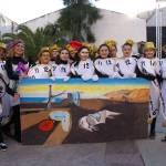 Variopinto y colorista desfile de Carnaval Escolar en Calasparra