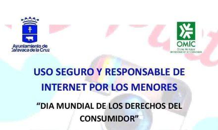 El Ayuntamiento programa para el miércoles 15 una charla sobre el uso responsable de Internet por los menores