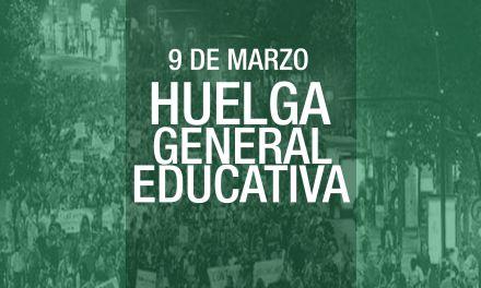La Asamblea Unitaria Estudiantil de Murcia llama a la Huelga General Educativa del 9 de Marzo