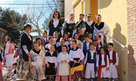 El CEIP Las Pedreras de Calasparra homenajea por Carnaval a las Fiestas de Primavera