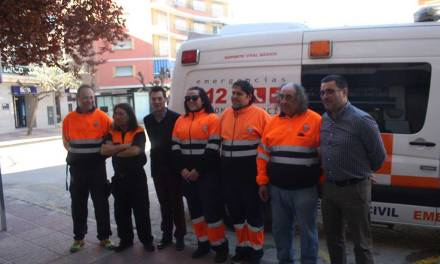 Protección Civil en Cehegín aumenta su parque de vehículos con una nueva ambulancia