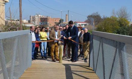 La Comunidad recupera el trazado original de la Vía Verde de Alguazas