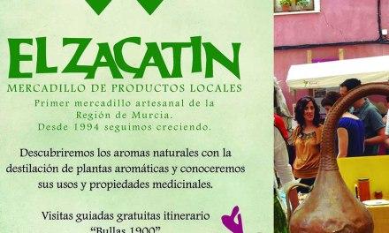 El Zacatín del domingo estará dedicado a la destilación de plantas aromáticas