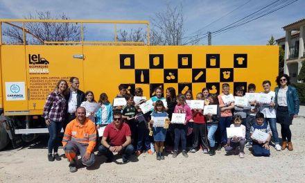 El Ayuntamiento de Caravaca y Acciones Urbanas realizan la campaña 'Las pedanías, juntas por el reciclaje'