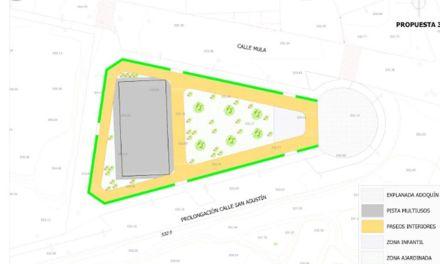 Los vecinos de Cehegín optan mayoritariamente por construir una Zona Verde para el Barrio de San Antonio
