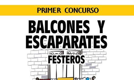 Festejos Caravaca convoca la primera edición del concurso de balcones y escaparates festeros
