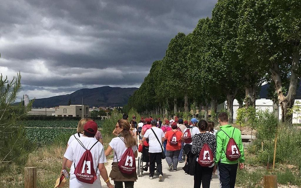 Un grupo de 50 jóvenes con discapacidad intelectual ganan el jubileo tras peregrinar durante tres días por el Camino de Levante