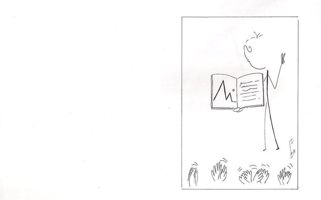 Crónica feliz de una presentación