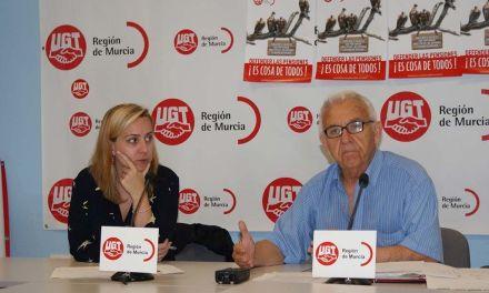 La Unión de Jubilados y Pensionistas de UGT Reg.Murcia ha presentado la campaña 'Defender las pensiones ¡es cosa de todos!'