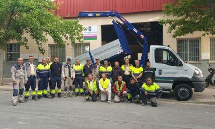 Los Servicios Municipales del Ayuntamiento de Bullas cuentan con un nuevo vehículo