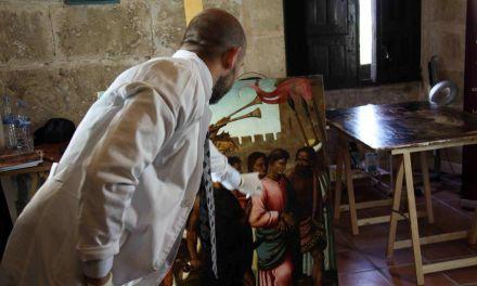 Cultura colabora en la restauración de las tablas de la Vera Cruz de Hernando de Llanos que se exhibirán en julio en Caravaca