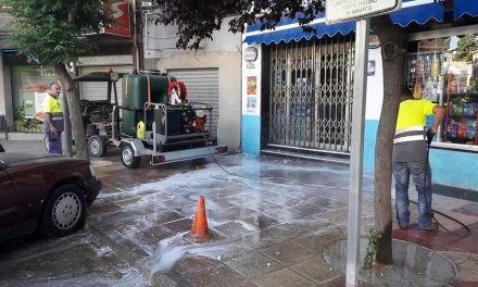 El Ayuntamiento de Cehegín adquiere una máquina hidrolimpiadora para la limpieza de la ciudad