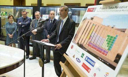 """UMU instalará en la fachada de la Facultad de Química la Tabla Periódica """"más grande del mundo"""""""