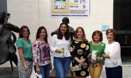 Cerca de 80 artistas participan en una exposición-subasta en Caravaca para lucha contra el cáncer