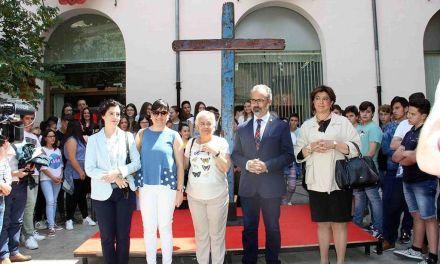 La Cruz de Lampedusa, símbolo de solidaridad y unión entre pueblos, llega a Caravaca