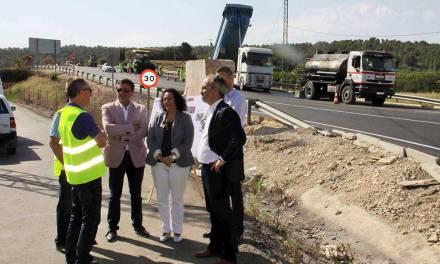 La Comunidad renueva la autovía del Noroeste para mejorar los accesos a cinco municipios
