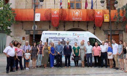 El Ayuntamiento de Caravaca adquiere un vehículo para el transporte público de personas con movilidad reducida