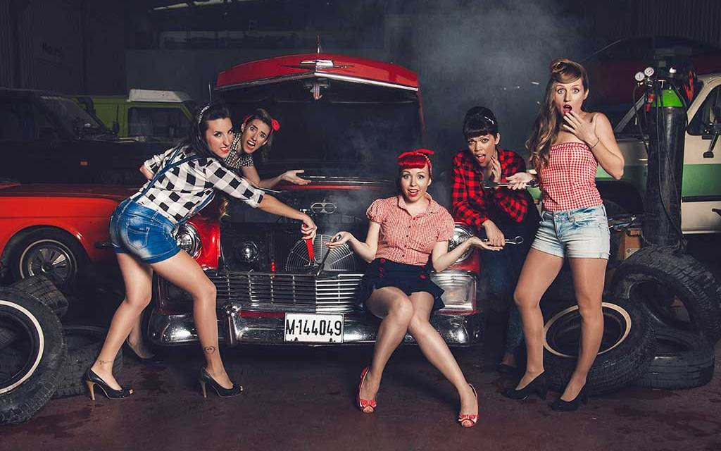 «Con The Ladies quise hacer más un tributo a una época que a un estilo», Lady Cherry