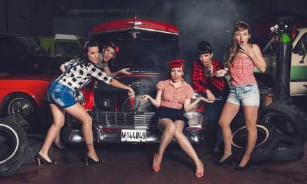 """""""Con The Ladies quise hacer más un tributo a una época que a un estilo"""", Lady Cherry"""