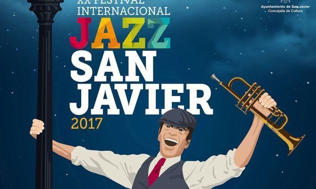 """El """"XX Festival International de Jazz de San Javier"""" ofrece una programación especial para una edición que corona sus dos décadas de existencia"""