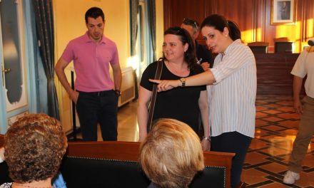 Reconocimiento institucional al valor y actitud ejemplar de la ceheginera María Carrasco