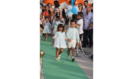 Jumeni-Ebrios celebra la gala de presentación de los damos infantiles de las Fiestas en honor al Stmo. Cristo del Rayo
