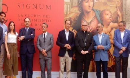 La Comunidad reúne en Caravaca de la Cruz las mejores piezas del Renacimiento en la Región en la exposición 'SIGNUM'