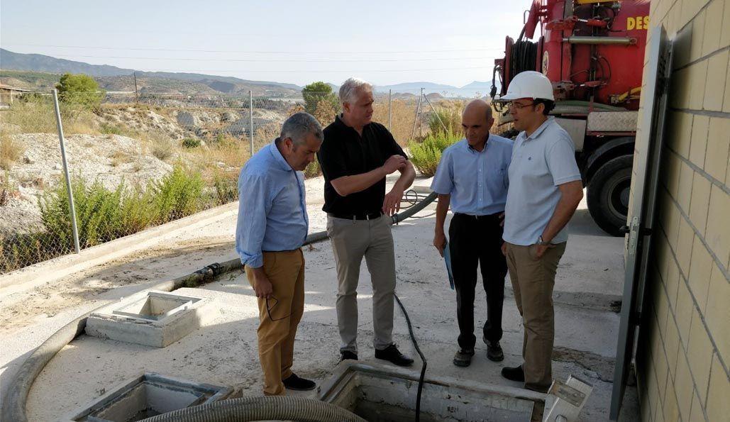 Agricultura inicia las obras de acondicionamiento y mejora de la estación de bombeo de aguas residuales de Albudeite