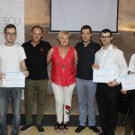 """Entregados en Cehegín los diplomas del curso """"Operaciones básicas de restaurante y bar"""", destinado a jóvenes de Garantía Juvenil"""