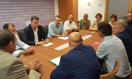 Podemos respalda la proposición de ley frente al fracking en la Región de Murcia