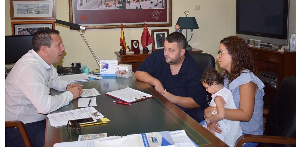 El muleño José María Gabarrón, una persona solidaria y un ejemplo a seguir en su apoyo hacia los demás