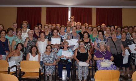 Clausurados los talleres para mayores en Mula