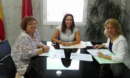 La Alcaldesa de Campos del Río solicita a la Dirección General de Centros Educativos nuevas actuaciones en el CEIP San Juan Bautista