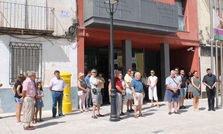Minuto de silencio y banderas a media asta en Bullas por las víctimas del atentado de Barcelona