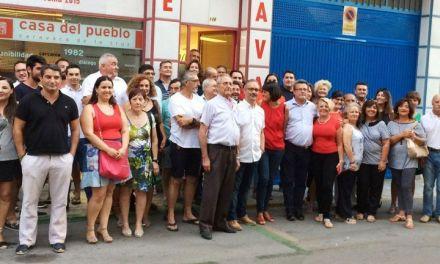 González Veracruz inició su campaña en Caravaca con el objetivo de preparar al PSOE para lograr el cambio en la Región en 2019