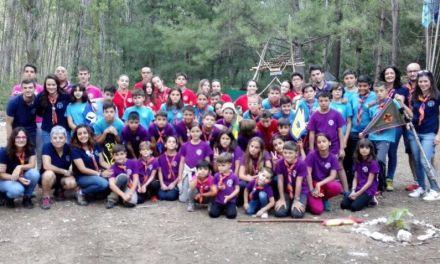 El grupo Scout Balate de Mula regresa antes de tiempo debido al incendio en Yeste