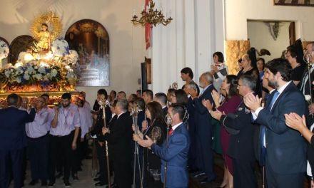 Fernando López Miras asiste en Mula a la procesión del Niño Jesús del Balate