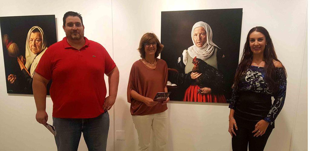 La Casa de la Cultura acoge la exposición de la fotógrafa Sonia Muñoz, con recreaciones de grandes obras de la pintura