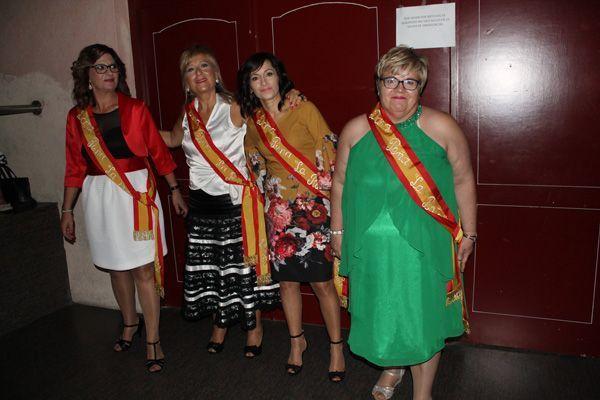 Las damas de las fiestas