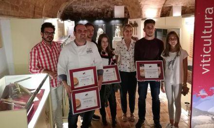 Restaurante Borrego, Bar Artezano y Pastelería Lázaro se llevan premio en la XIII Ruta de la Tapa y  del Dulce 2017